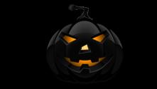small black pumpkin